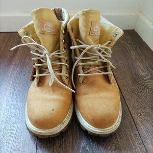 Timberland Roll-Top boots Man 4.5 EU 37.5 Chestnut